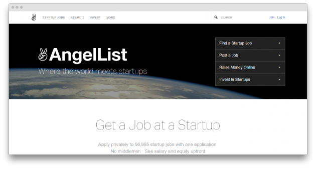 FlexJobs, AngelList