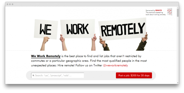 We Work Remotely, FlexJobs